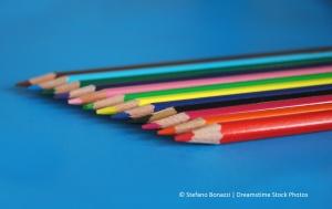 color pencils.dreamstimefree_218525